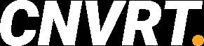 Tekstueel logo CNVRT