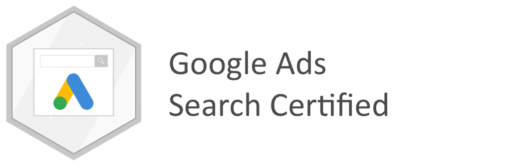 GOOGLE SEARCH CERTIFIED